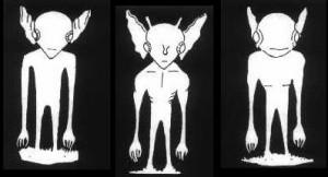 The Hopkinsville Goblins, Eye witness sketch