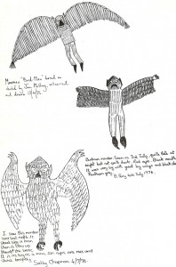 Witness sketch by Barbara Perry and Sally Chapman