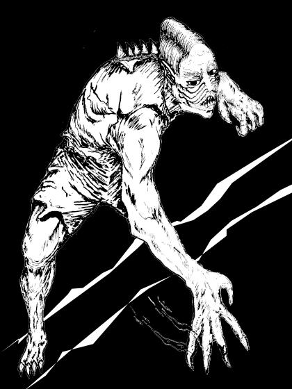 Deep One Hybrid - Abomination